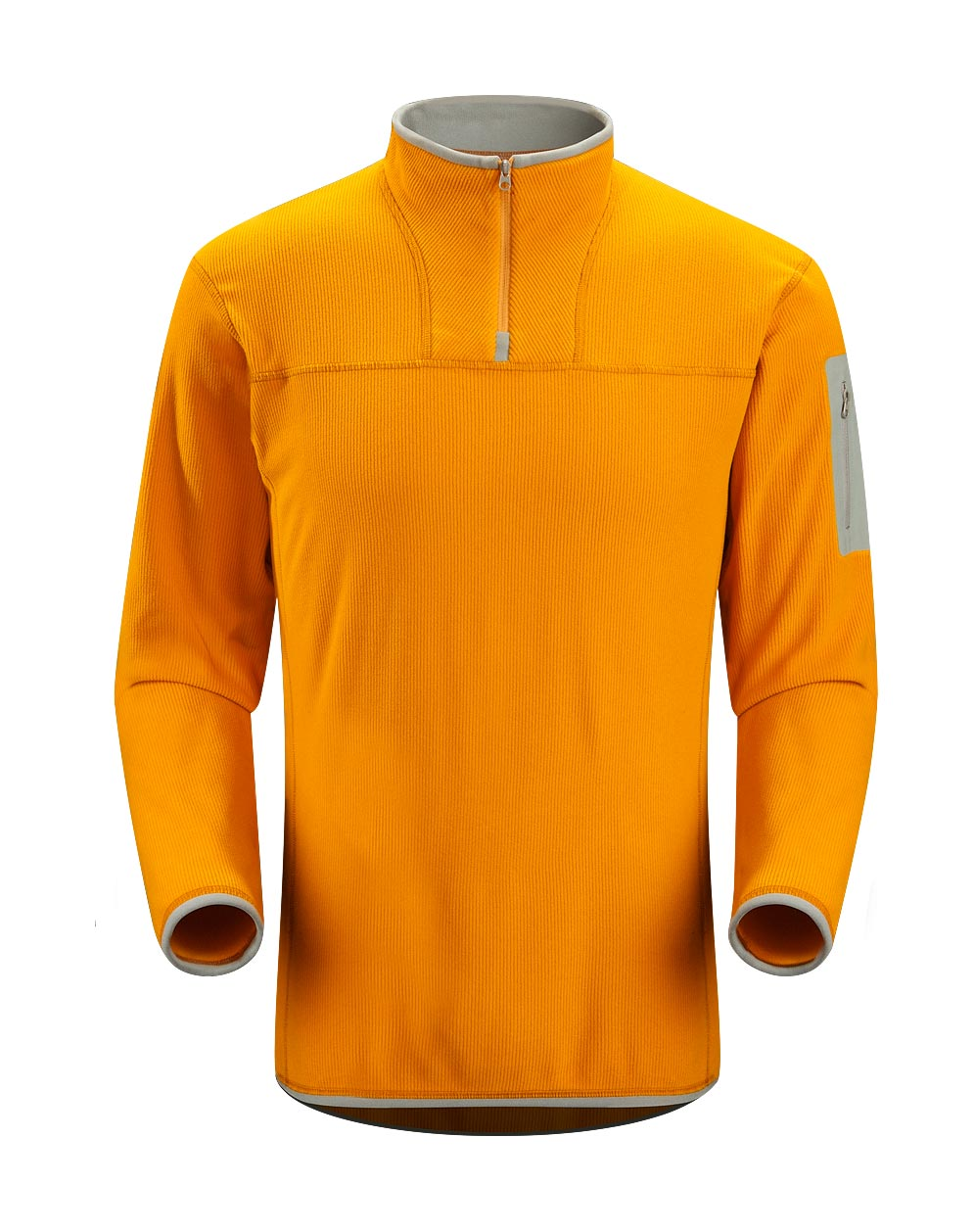 Arcteryx Summer Squash Caliber Zip Neck